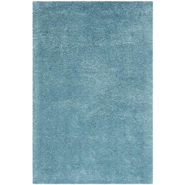 Turquoise (T) Shag Area-Rugs