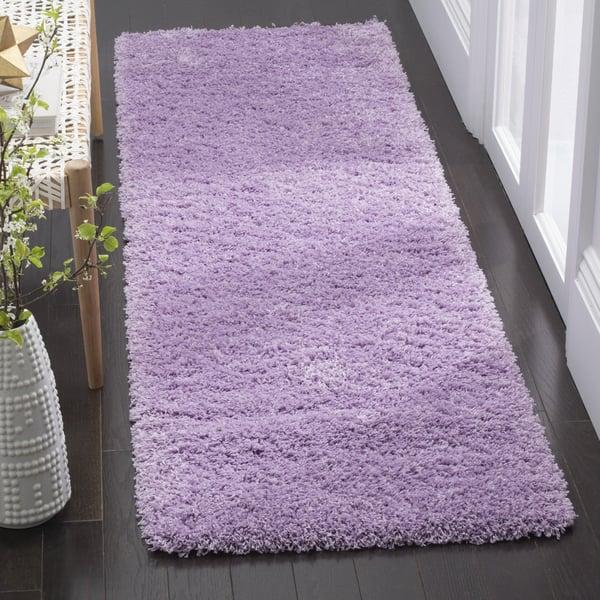 Lilac (N) Shag Area-Rugs