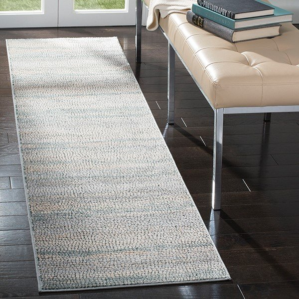 Light Sage (W) Contemporary / Modern Area Rug