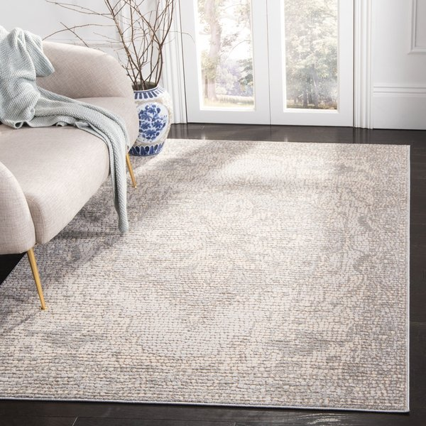 Silver, Ivory (G) Traditional / Oriental Area-Rugs