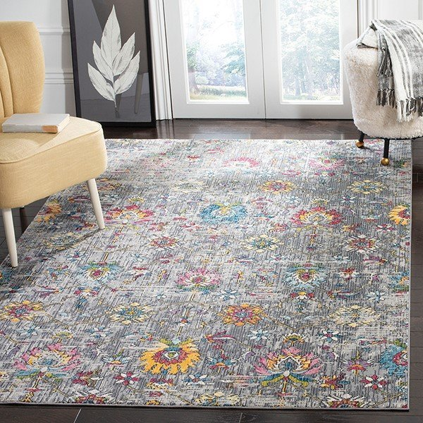Grey (F) Vintage / Overdyed Area-Rugs