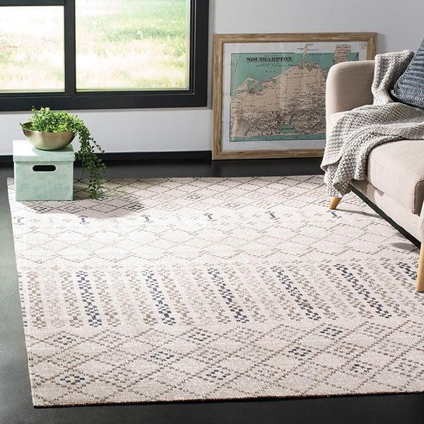 Grey, Charcoal (G) Moroccan Area Rug