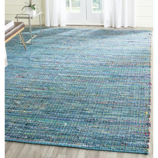 Blue (A) Bohemian Area Rug