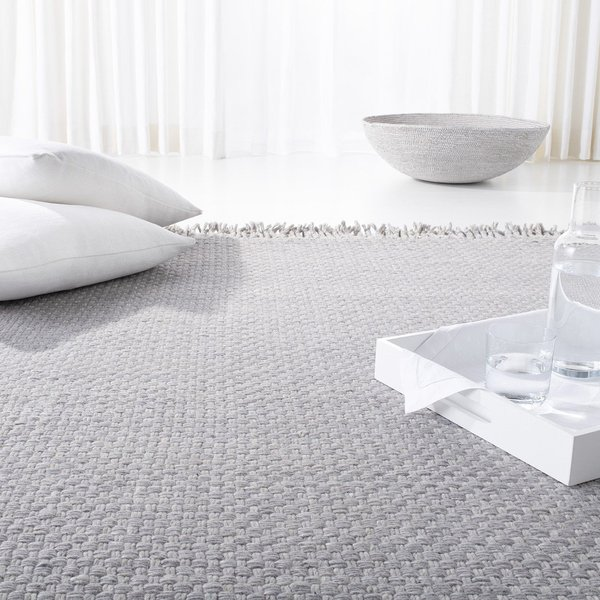 Taupe, Pewter Contemporary / Modern Area Rug