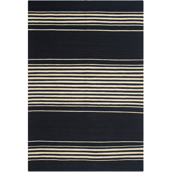 Cinder (B) Striped Area-Rugs
