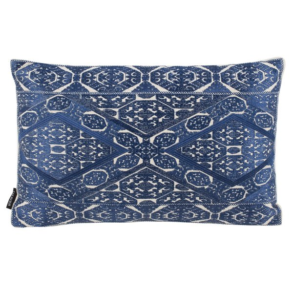Blue, Beige (PLS-904) Traditional / Oriental Pillow