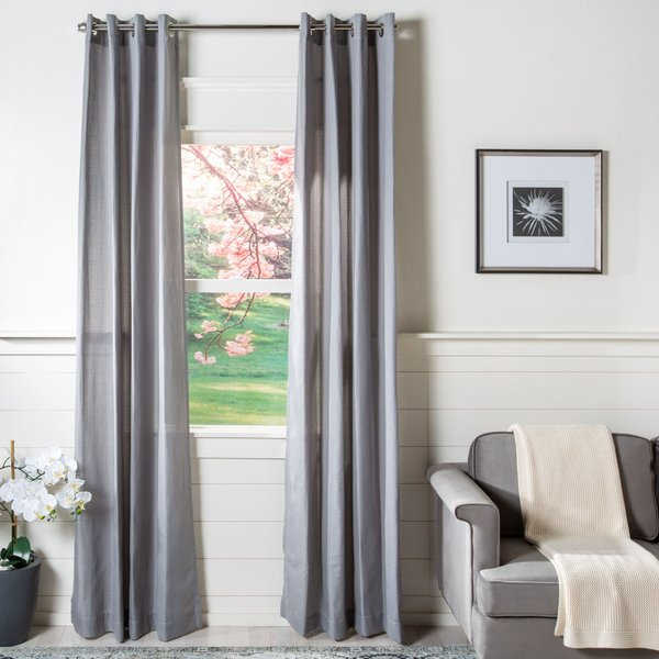 Grey (WDT-1033) Contemporary / Modern Curtains