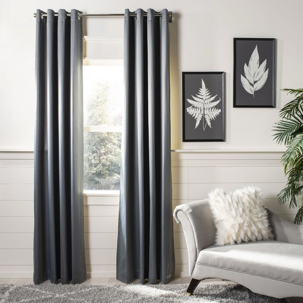 Grey (WDT-1022) Solid Curtains