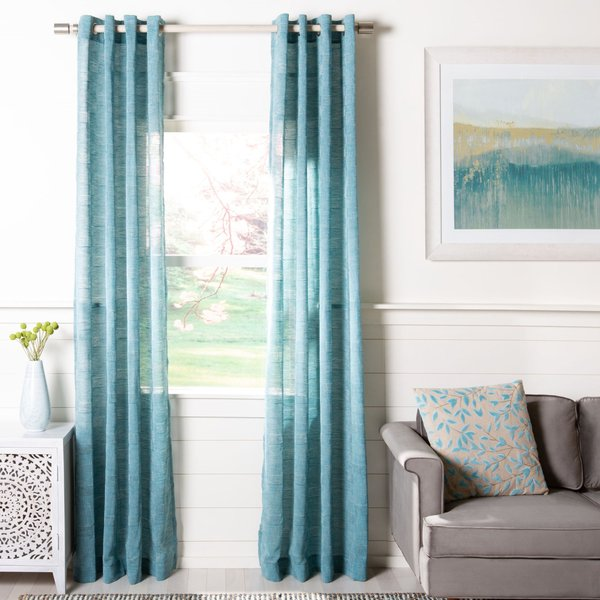 Blue (WDT-1026) Solid Curtains
