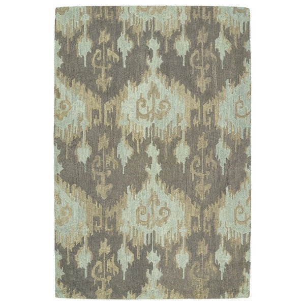 Taupe, Mint, Light Brown (88) Bohemian Area Rug