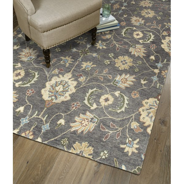 Pewter, Sage, Brick Red (73) Traditional / Oriental Area Rug