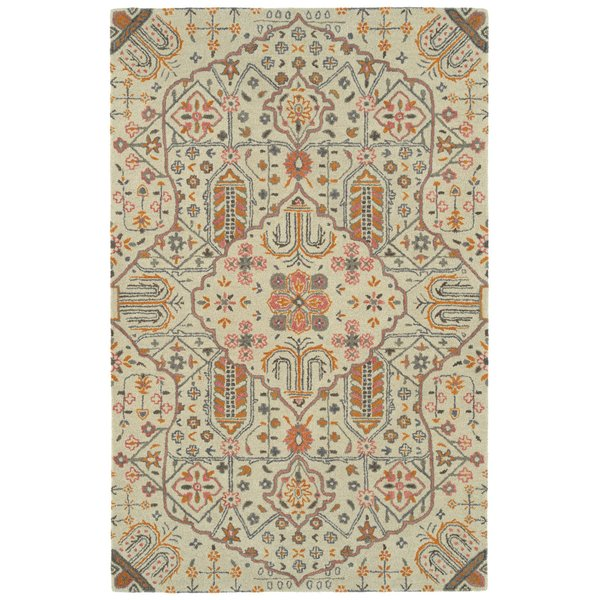 Ivory (01) Contemporary / Modern Area-Rugs