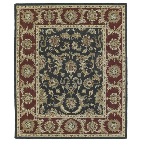 Graphite, Brick Red, Light Camel (68) Traditional / Oriental Area-Rugs