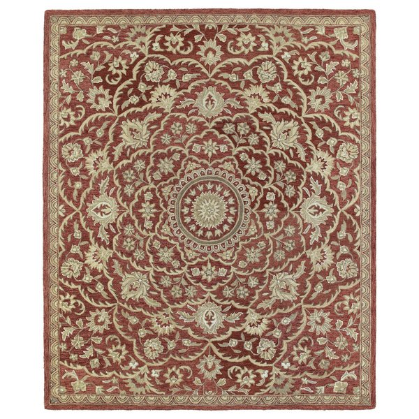 Red, Olive Green, Camel (25) Traditional / Oriental Area Rug