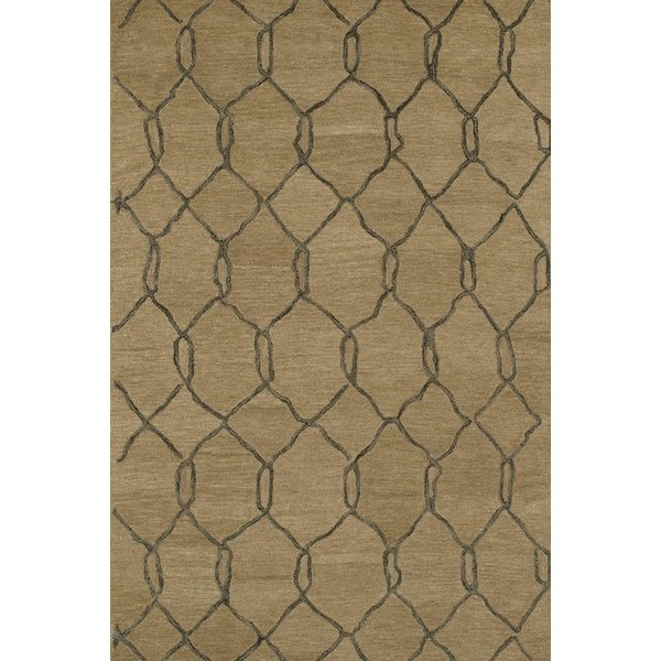Light Brown, Cappucino (82) Contemporary / Modern Area-Rugs