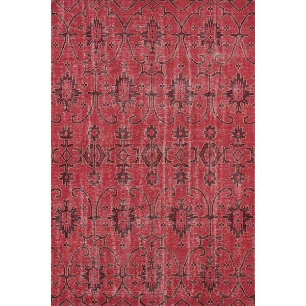 Raspberry, Burgundy, Milk Chocolate Brown (25) Moroccan Area Rug