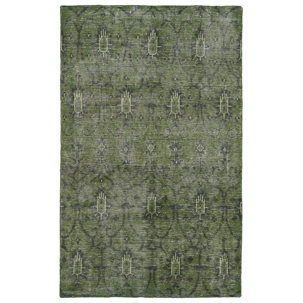 Green, Emerald, Olive (50) Moroccan Area Rug