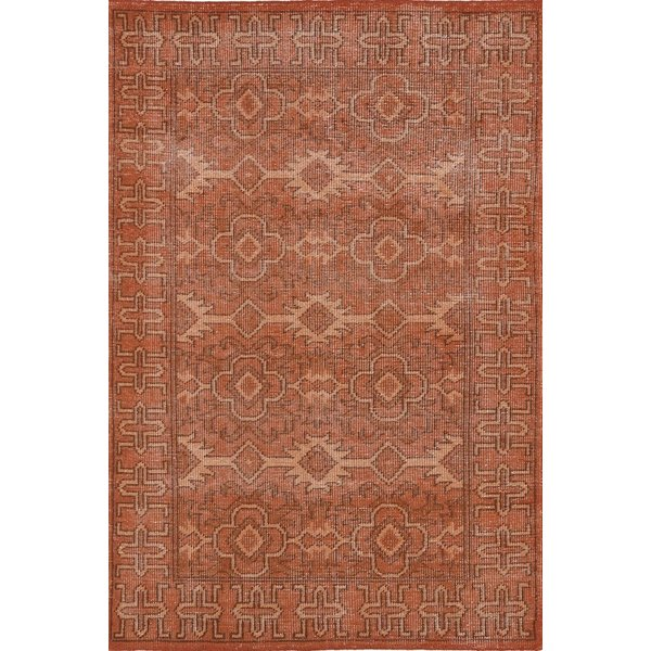Paprika, Pumpkin, Apricot (53) Traditional / Oriental Area Rug
