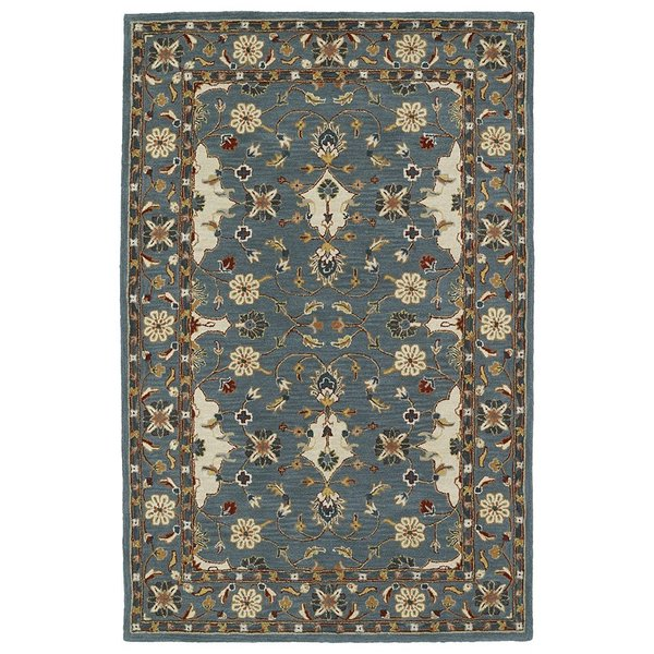 Teal (91) Traditional / Oriental Area Rug