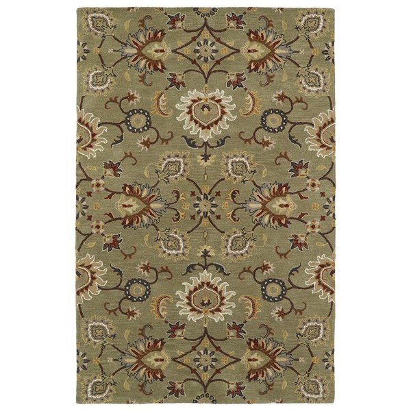 Green (50) Traditional / Oriental Area Rug