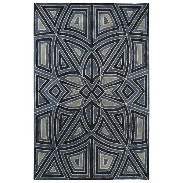 Periwinkle (110) Contemporary / Modern Area Rug