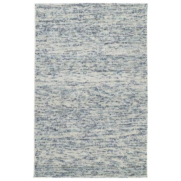 Blue, White, Beige, Spa (17) Contemporary / Modern Area Rug