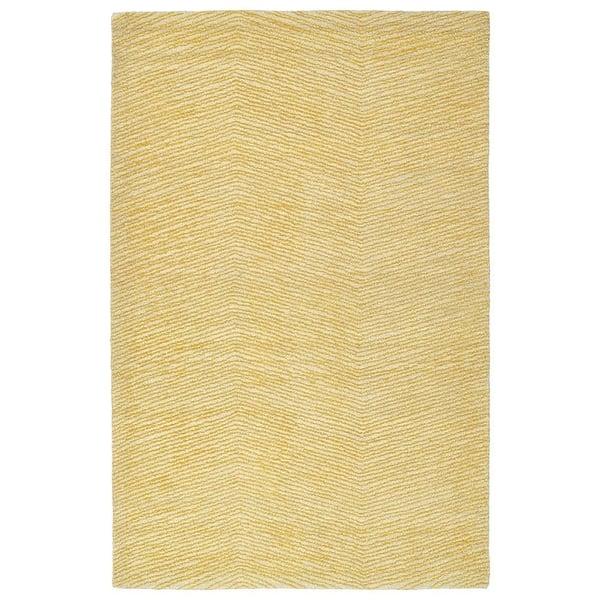 Gold, Linen, Shale Grey (05) Contemporary / Modern Area Rug