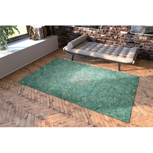 Turquoise (78) Traditional / Oriental Area-Rugs