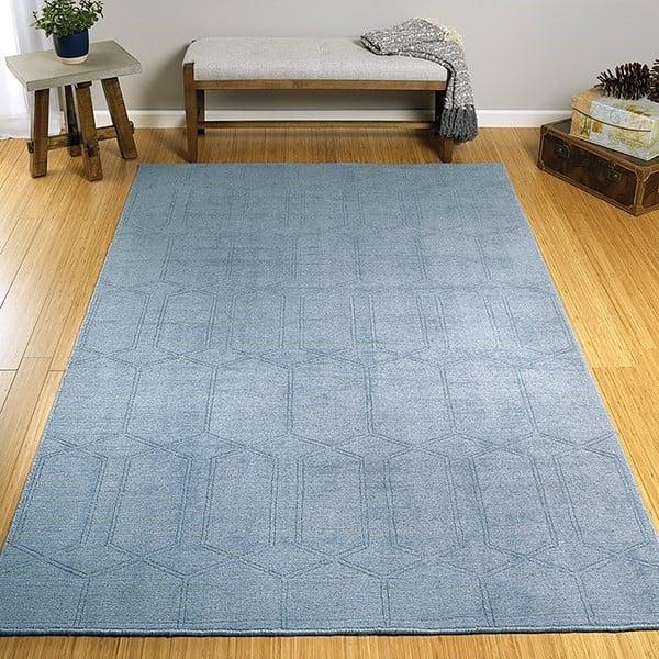 Blue (17) Contemporary / Modern Area-Rugs
