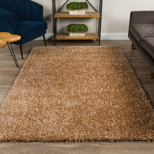 Taupe Solid Area-Rugs