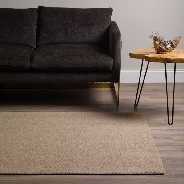 Putty Solid Area Rug