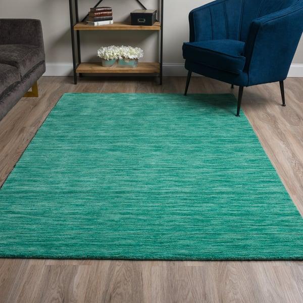 Emerald Contemporary / Modern Area Rug