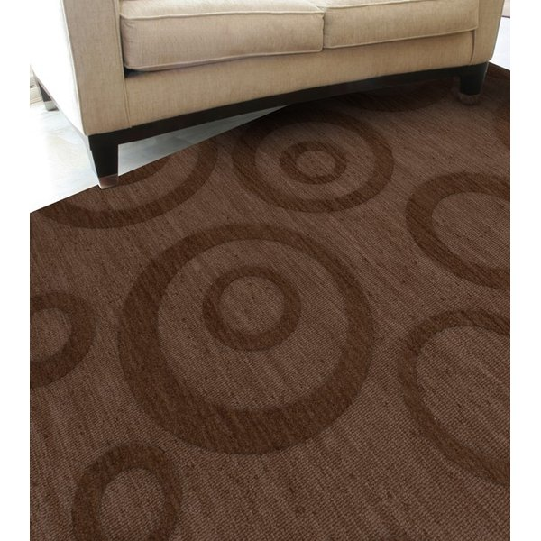 Mocha (104) Contemporary / Modern Area Rug