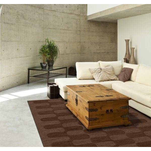 Mocha (104) Contemporary / Modern Area Rug