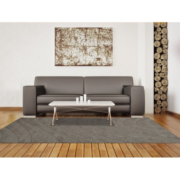Silver (152) Contemporary / Modern Area Rug