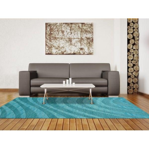 Peacock (160) Contemporary / Modern Area Rug