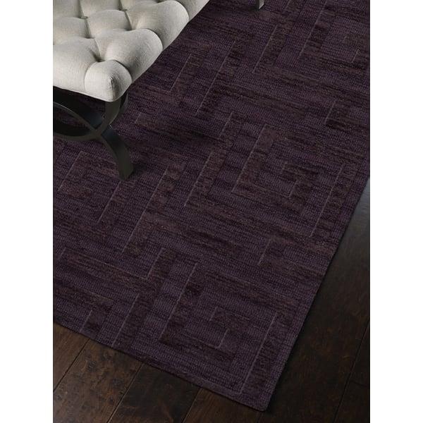 Grape Ice (130) Contemporary / Modern Area-Rugs