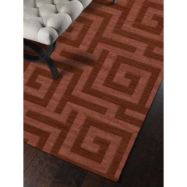 Coral (135) Contemporary / Modern Area Rug