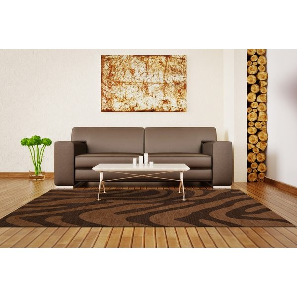 Caramel (105) Animals / Animal Skins Area Rug