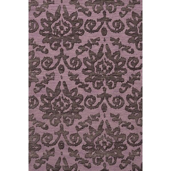 Lavender, Purple Traditional / Oriental Area-Rugs