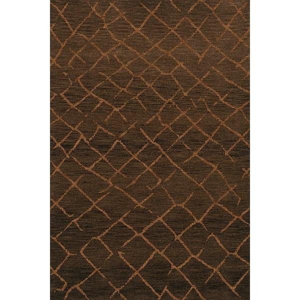 Fudge, Brown Moroccan Area-Rugs