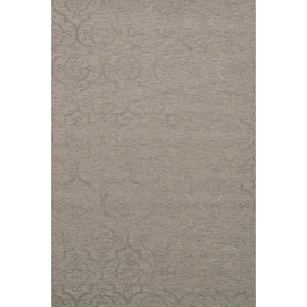 Silver, Grey Contemporary / Modern Area Rug
