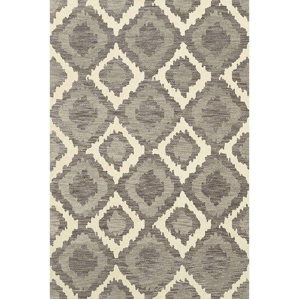 Ash, Ivory, Grey Bohemian Area-Rugs