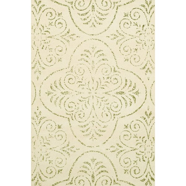 Snow, Ivory Traditional / Oriental Area Rug