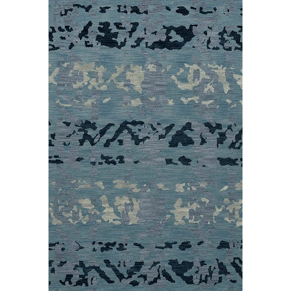 Sky, Blue, Grey Contemporary / Modern Area Rug