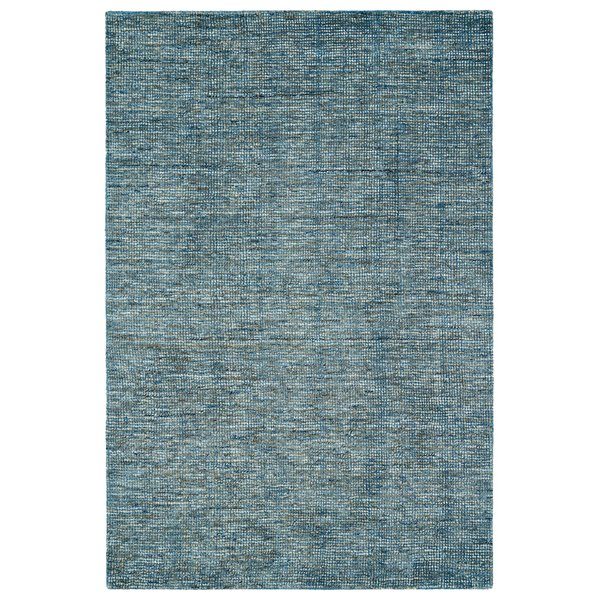 Denim, Grey, Navy Contemporary / Modern Area Rug