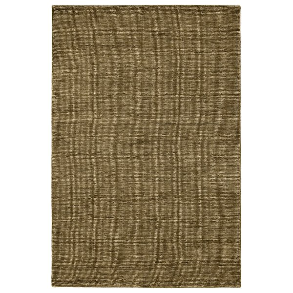 Fern, Taupe, Chocolate Contemporary / Modern Area Rug