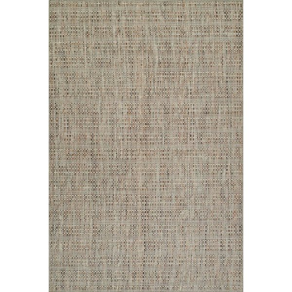 Taupe Contemporary / Modern Area Rug
