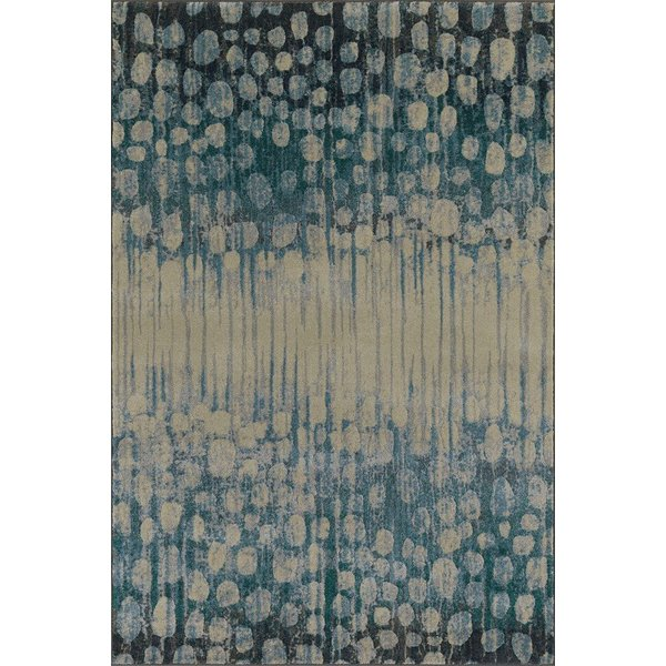 Pewter Contemporary / Modern Area-Rugs
