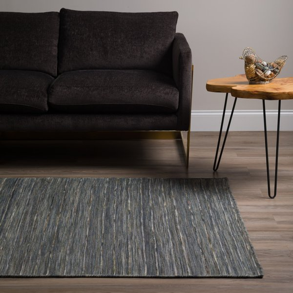 Carbon Contemporary / Modern Area Rug